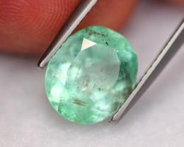3.09Ct Natural Neon Green Colombian Muzo Emerald ~ A0602