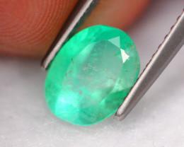 1.20Ct Natural Neon Green Colombian Muzo Emerald ~ A0609