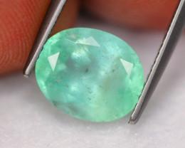 2.73Ct Natural Neon Green Colombian Muzo Emerald ~ A0611