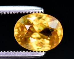 Top Dispersion 1.85 ct Natural Titanite Sphene. ARA