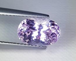"3.99 ct "" Amazing Gem "" Beautiful Oval Cut Natural Pink  Kunzite"