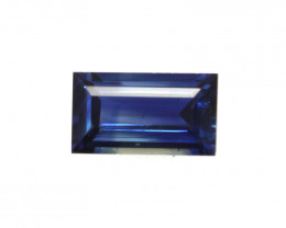 0.50cts Natural Australian Blue Sapphire Baguette Cut