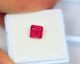 2.35Ct Ruby Composite Square Cut Lot Z27