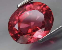 2.91CT Rubellite -HOT RED , Full spark FROM COLLECTOR.