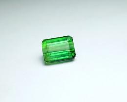 3.35 Ct Natural Dark Green Transparent Tourmaline Gem