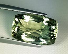 10.43 ct AAA Grade Rectangular Cut Natural Mint Green Amethyst