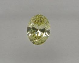 Natural Fancy Yellow Diamond IGI certified