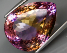 26.30 ctAmetrine ,PURPLE GOLD BOLIVIA AAA Faceted