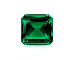 High-End 1.18 ct Natural Zambian Emerald Certified