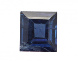 0.54cts Natural Australian Blue Sapphire Square Shape