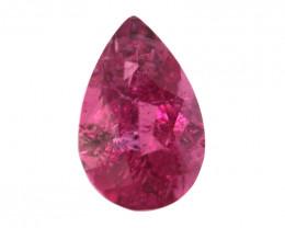 0.50cts Natural Pink Tourmaline Pear Shape