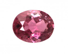 0.35cts Natural Pink Tourmaline Oval Cut