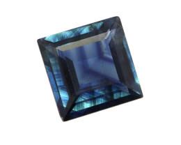 0.67cts Natural Australian Blue Sapphire Square Shape