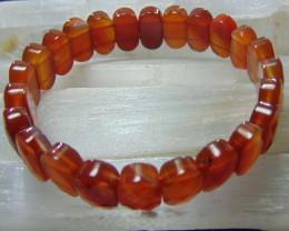 Carnelian Stone Bracelet 15 mm