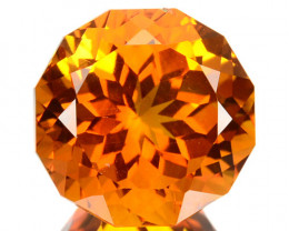 ~JEWELRY GRADE~ 4.50 Cts Natural AAA Golden Orange Citrine Fancy Brazil