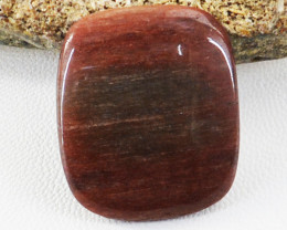 Genuine 29.00 Cts Untreated Bloodstone Cabochon