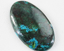 Genuine 30.00 Cts Azurite Oval Shape Untreated Cabochon