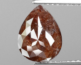 3.00 Cts Untreated Natural Fancy Reddish Brown Loose Diamond