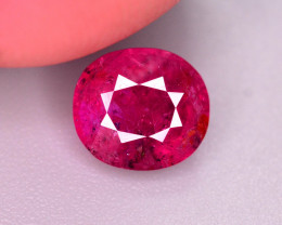 1  Ct Gorgeous Color Natural Ruby From Afghanistan ~ ARA.2