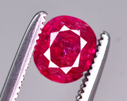 0.70  Ct Gorgeous Color Natural Ruby From Afghanistan ~ ARA.2