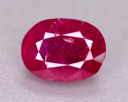 0.55 Ct Gorgeous Color Natural Ruby From Afghanistan ~ ARA.2