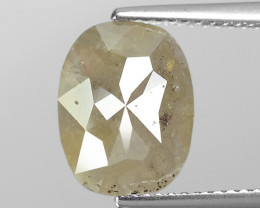 4.05 Cts Untreated Natural Fancy intense Grey Loose Diamond