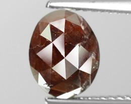 3.03 Cts Untreated Natural Fancy Deep Reddish Brown Loose Diamond