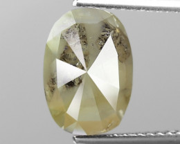 4.03 Cts Untreated Natural Fancy Intense Grey Color Loose Diamond