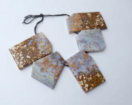 460cts Ocean jasper necklace , Healing Gemstone , design gemstone(A797)