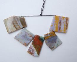 450ts Ocean jasper necklace , Healing Gemstone , design gemstone(A799)