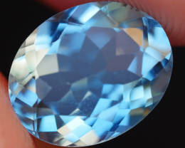 3.10 CRT LOVELY SWISS BLUE TOPAZ VERY CLEAR-