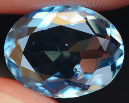 3.25 CRT LOVELY SWISS BLUE TOPAZ VERY CLEAR-