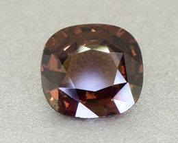 Unheated Brown Sapphire 1.84 Ct. Unusual & Amazing! (01343)