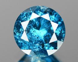 0.53 Cts Rare Sparkling Fancy Intense Blue Color Loose Diamond