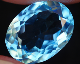 2.50 CRT LOVELY SWISS BLUE TOPAZ VERY CLEAR-
