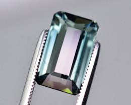 4.85 Ct Superb Color Natural Greenish Blue Tourmaline