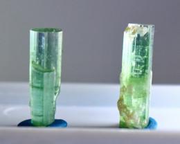 18.80 Cts Beautiful, Superb Green Tourmaline Crystals