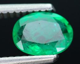 Top Color 1.01 ct Zambian Emerald SKU-10