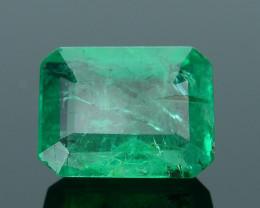 Top Color 1.24 ct Zambian Emerald SKU-10
