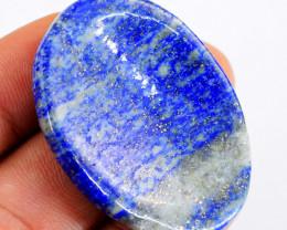 Genuine 105.00 Cts Lapis Lazuli Healing Palm Gemstone