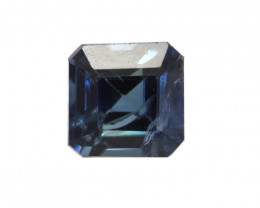 0.27cts Natural Australian Blue Sapphire Square Emerald Cut