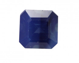0.41cts Natural Australian Blue Sapphire Square Emerald Cut