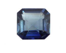 0.34cts Natural Australian Blue Sapphire Square Emerald Cut