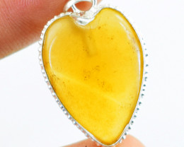 Genuine 4.00 Gms Onyx Heart Pendant