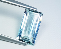 "1.73ct ""Top Quality Gem"" Excellent Octagon Cut Natural Aquamarine"