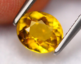 1.03Ct Natural Golden Yellow Beryl Oval Cut ~ B1029