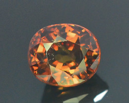 1.85 ct Natural Zircon Untreated Cambodia