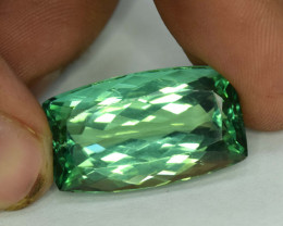 NR 31.25 cts Green Spodumene Gemstone