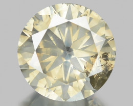 2.12 Cts Untreated Natural Fancy Yellowish Brown Loose Diamond