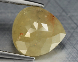1.38 Cts Untreated Natural Fancy intense Brownish Yellow Loose Diamond